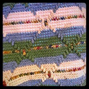 Vintage crochet blanket, stunning craftsmanship